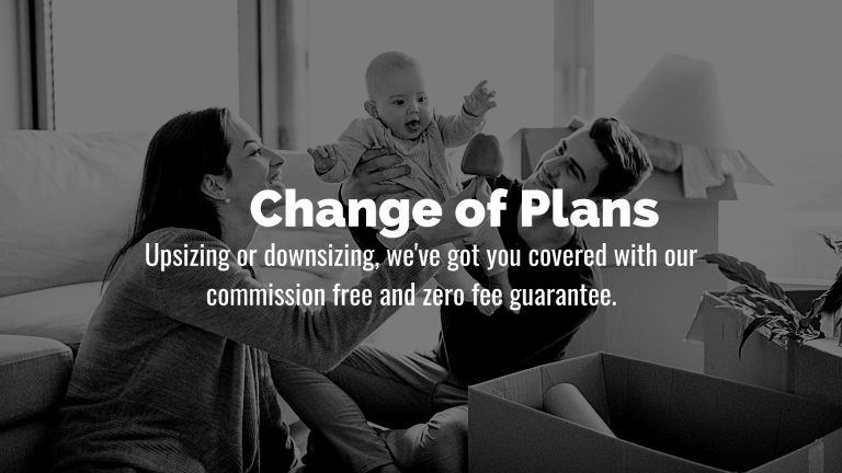 Flash Realty Downsizing or Changes of Plans